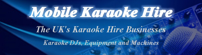 Mobile Karaoke Hire Header